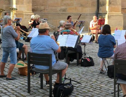 Serenade vor der Stadtkirche