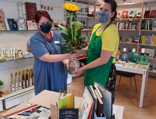 Jubiläumstag in der Buchhandlung